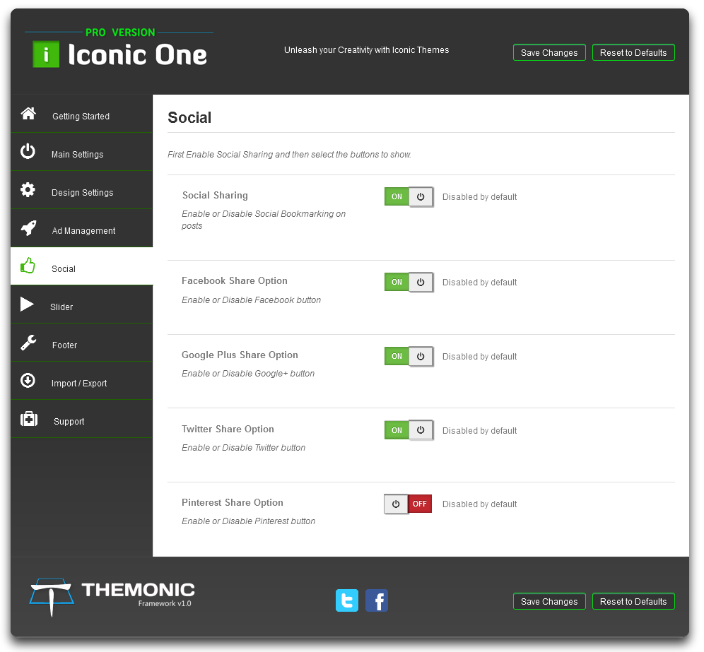 turn of social icons wp theme